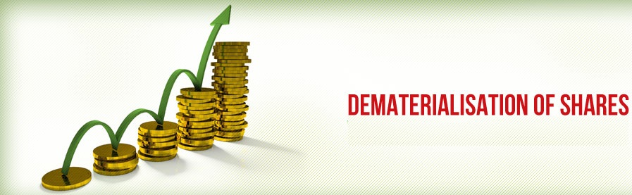 dematerialise of shares