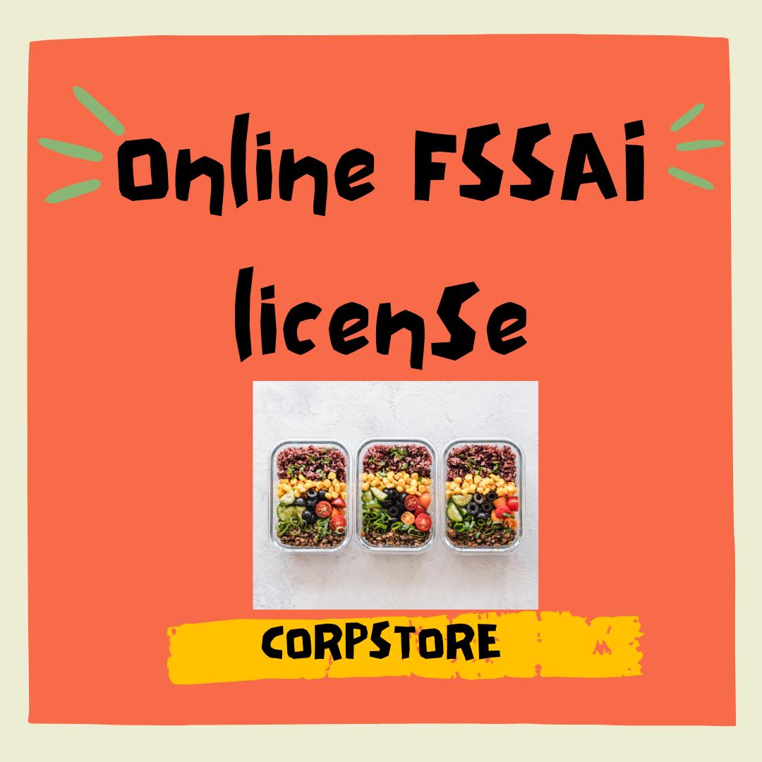 Online FSSAI Registration License in Coimbatore | Corpstore